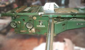 クワハラ 軸傾斜横切り盤 KS-T1800TW